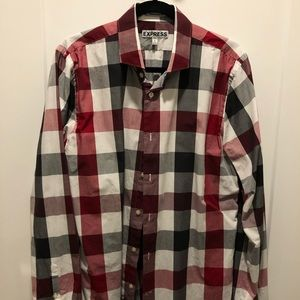 Express 1MX Dress Shirt - Extra Sim Fit